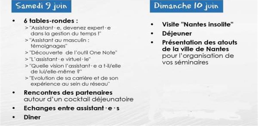 Séminaire Ouest Assist Manager / IMA - Ouest Assist Manager