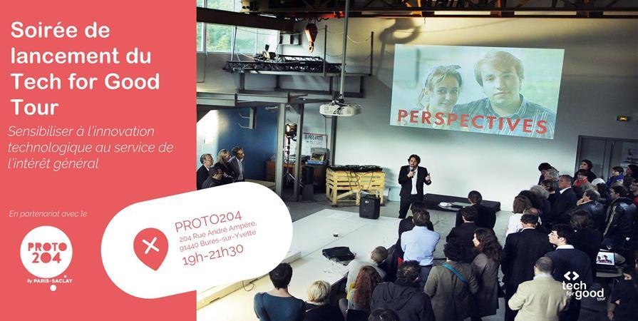 Soirée de lancement du Tech for Good Tour à Saclay - Latitudes - Exploring Tech for Good