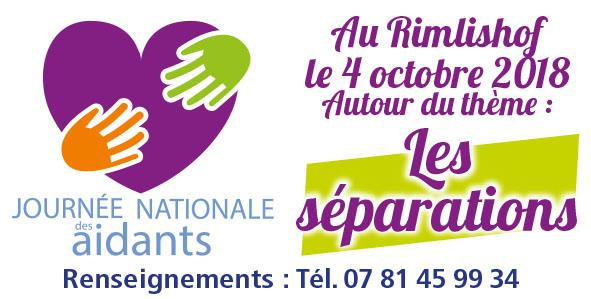 Journée Nationale des Aidants - Forum au Rimlishof - Les Amis du Rimlishof
