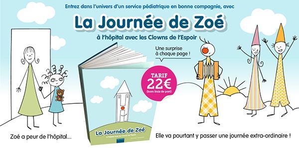 """Vente album """"la Journée de Zoé"""" - les Clowns de l'Espoir"""
