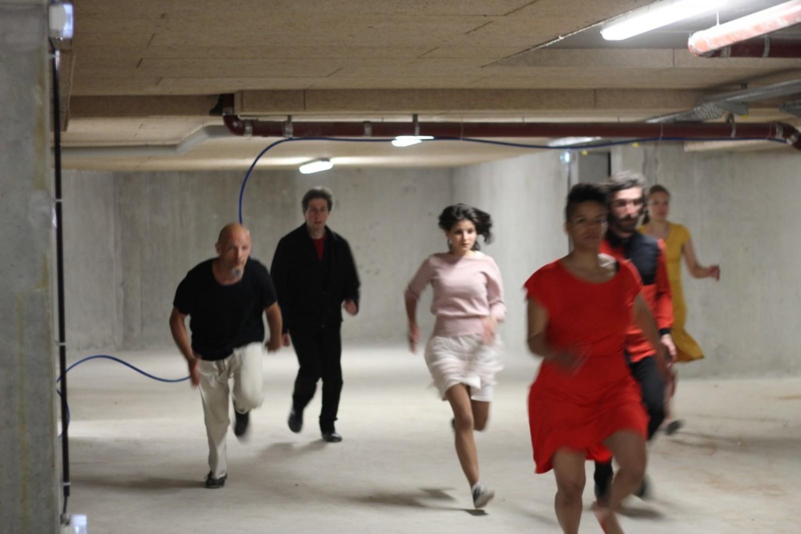 ++ Workshop La Cavale Urbaine - Ecole de Théâtre Physique