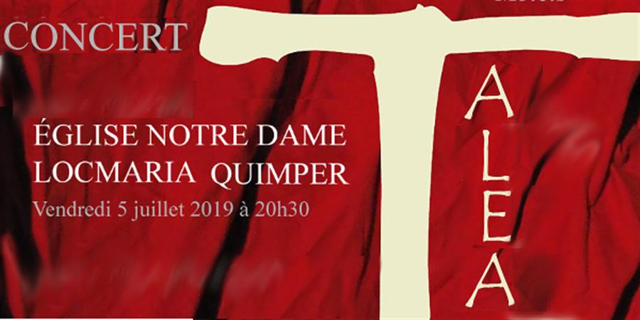 Concert Eglise de Locmaria - Quimper - Ensemble Talea