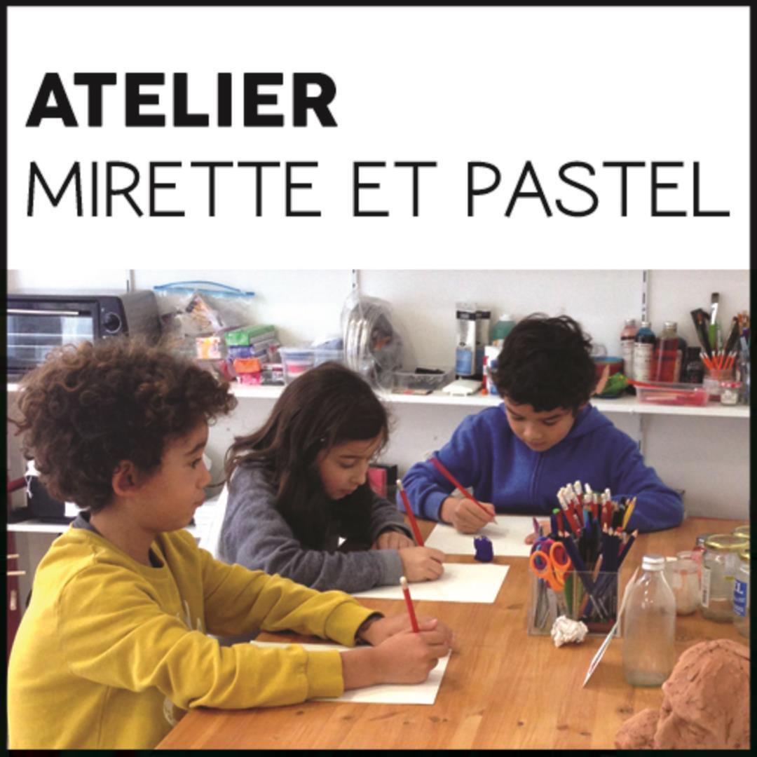 Cours d'arts plastique enfants - Association Mirette et Pastel