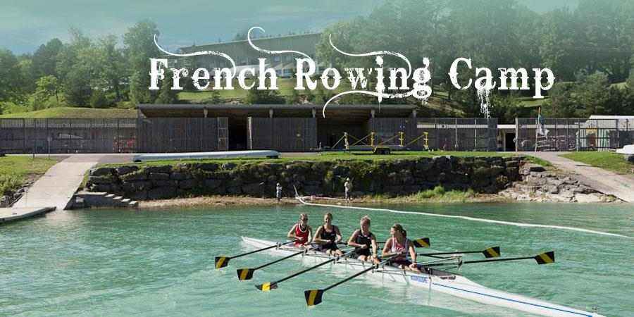 RC11 Bellecin - Stage aviron 5 jours | Rowing Camp - French Rowing Class
