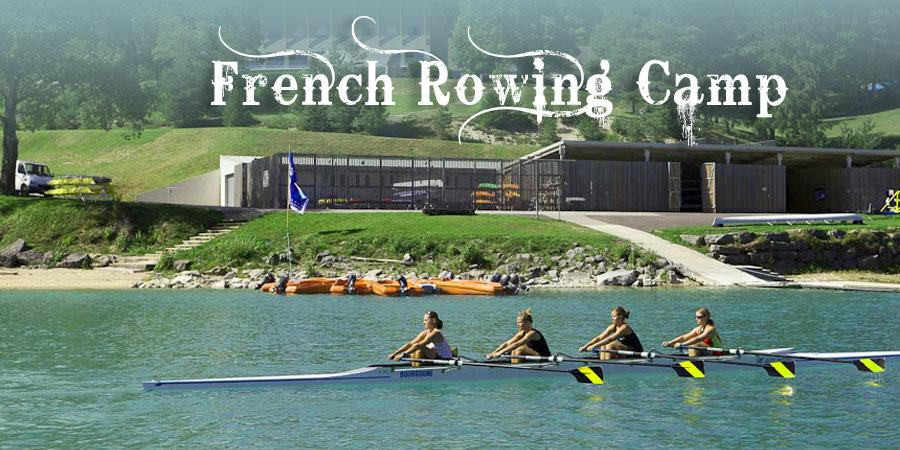 RC12 Bellecin - Stage aviron 5 jours | Rowing Camp - French Rowing Class