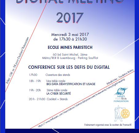 Rotary Digital Meeting - Rotaract Club Paris Ouest