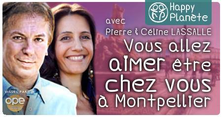 """Conférence """"Habitat créatif"""" avec Pierre & Céline LASSALLE - Happy Planète"""