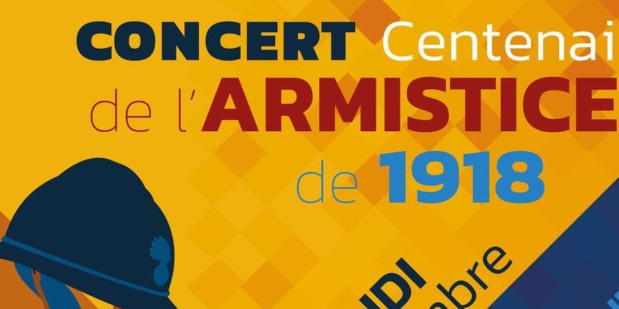 Concert Anniversaire - Centenaire de l'Armistice de 1918 - Ecole de Musique et de Danse de Vertou