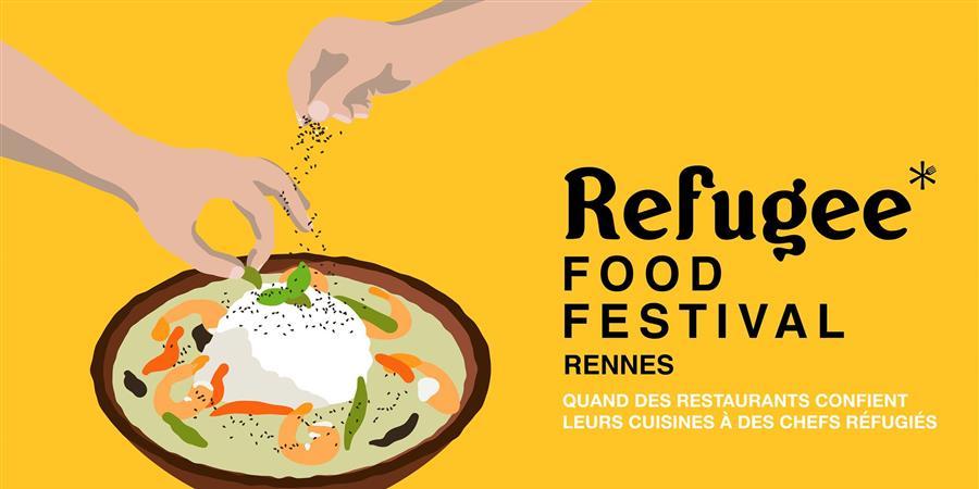 BRUNCH REFUGEES FOOD FESTIVAL LE 30 JUIN DE 11h30 A 14h30 - Les Ateliers du Vent