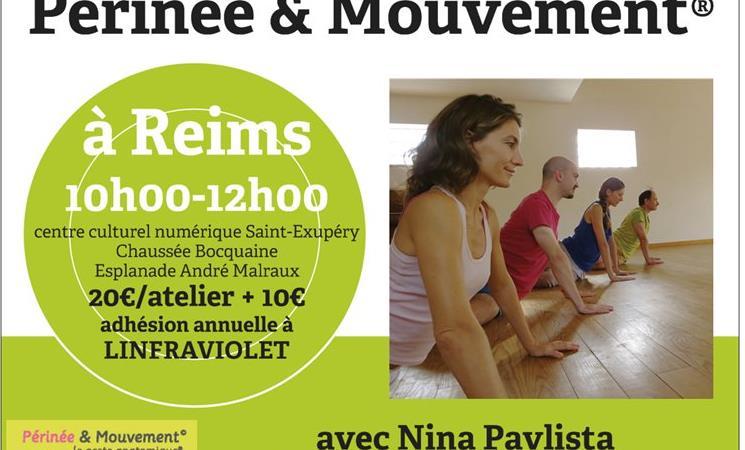 Atelier Périnée & Mouvement® - saison 2018 2019 - Linfraviolet