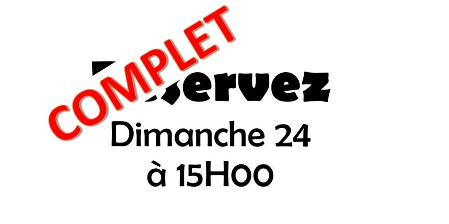 DIMANCHE 24 SEPTEMBRE 2017 à 15H - THEATRE DOUILL'ARTISTES - Placement Libre - Les Douill' Artistes