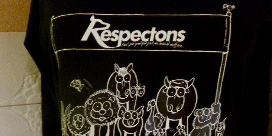 "Tee Shirt ""respect pour tous"" - Respectons"