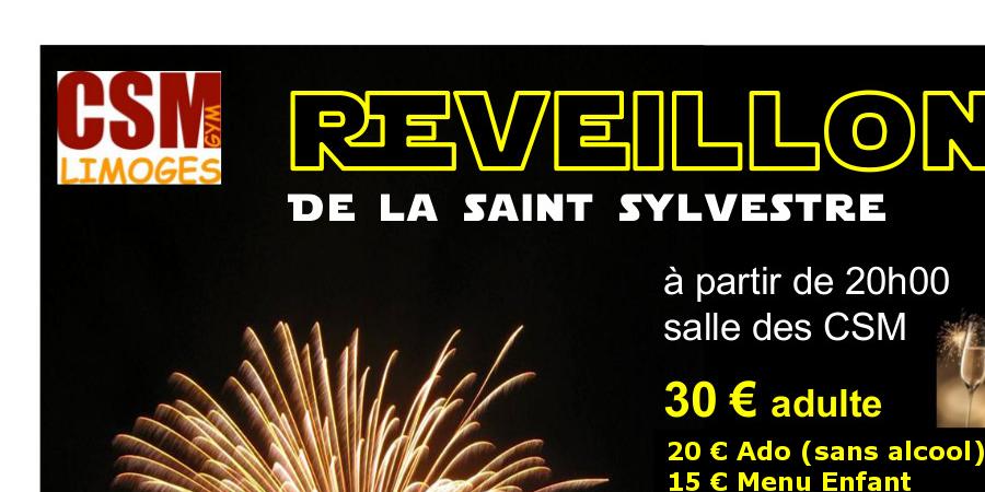 Réveillon de la Saint Sylvestre - CSM Limoges