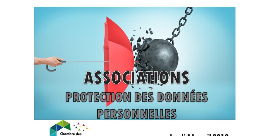 Café asso : formation ASSOCIATIONS ET PROTECTION DES DONNÉES RGPD - Chambre des associations