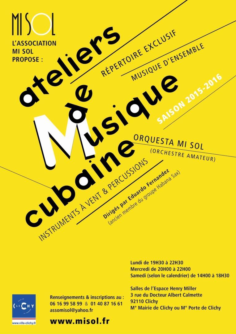 Atelier de musique cubaine - MI SOL