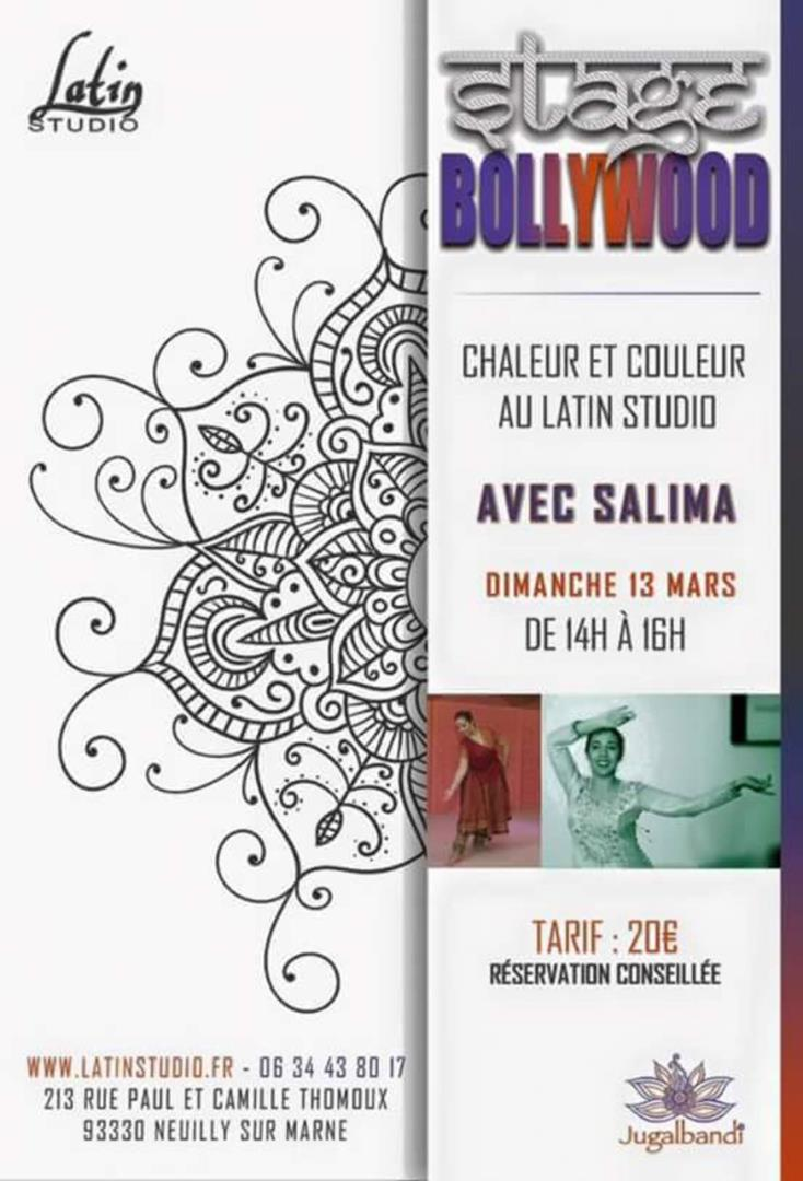 Stage de danse bollywood  - Association Jugalbandi