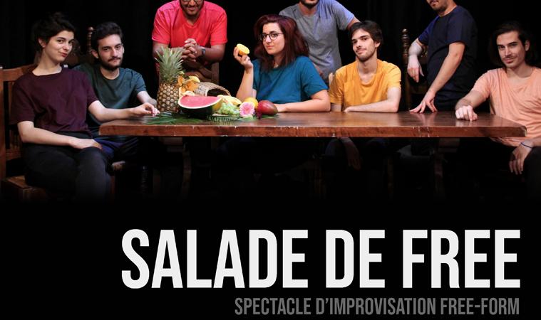 Salade de Free (27 janvier) [Les Fruis Confus] - Théâtre Populaire Alizé