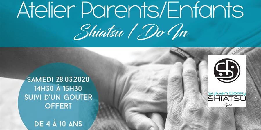 Atelier Parents/Enfants Shiatsu / Do In avec Sylvain Dorey  - LADC - Danse & Forme
