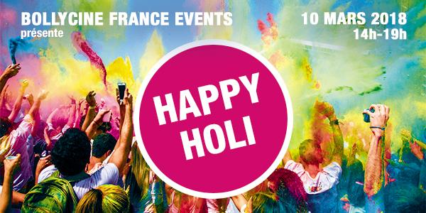 BOLLYCINE FRANCE EVENTS :  HAPPY HOLI A GRENOBLE - BOLLYCINE FRANCE
