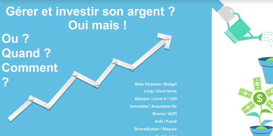 """[ECAF] [investissements] Cours d'initiation dans le """"Money managing"""" - Etudiants et Cadres Algériens de France"""