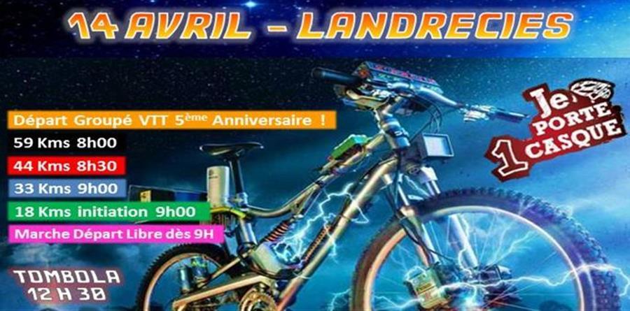 La Dérailleuse VTT Marche Landrecies - Les Déraillés VTT Landrecies