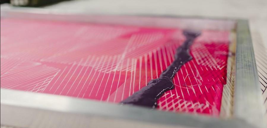 Atelier / sérigraphie aux encres naturelles - Ecos