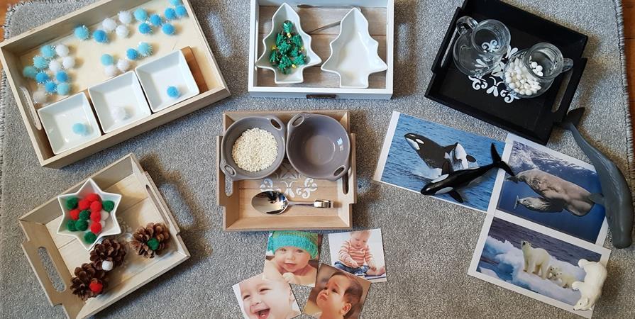 Ateliers Montessori : 0/3 ans avec 1 adulte - Mikado