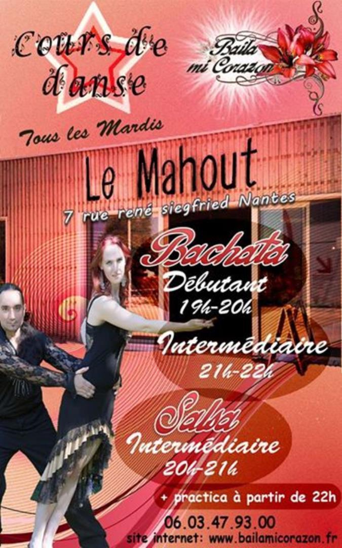 Cours de Bachata et de Salsa Cubaine sur Nantes - Baila Mi Corazon