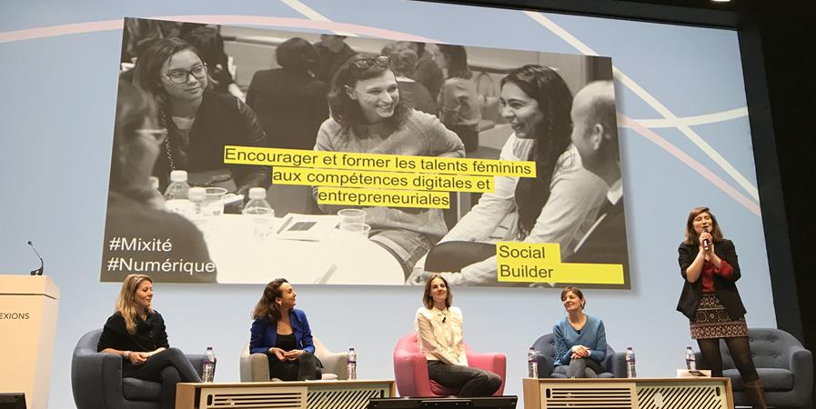 Atelier coaching avec Social Builder - Sciences-Po au Féminin