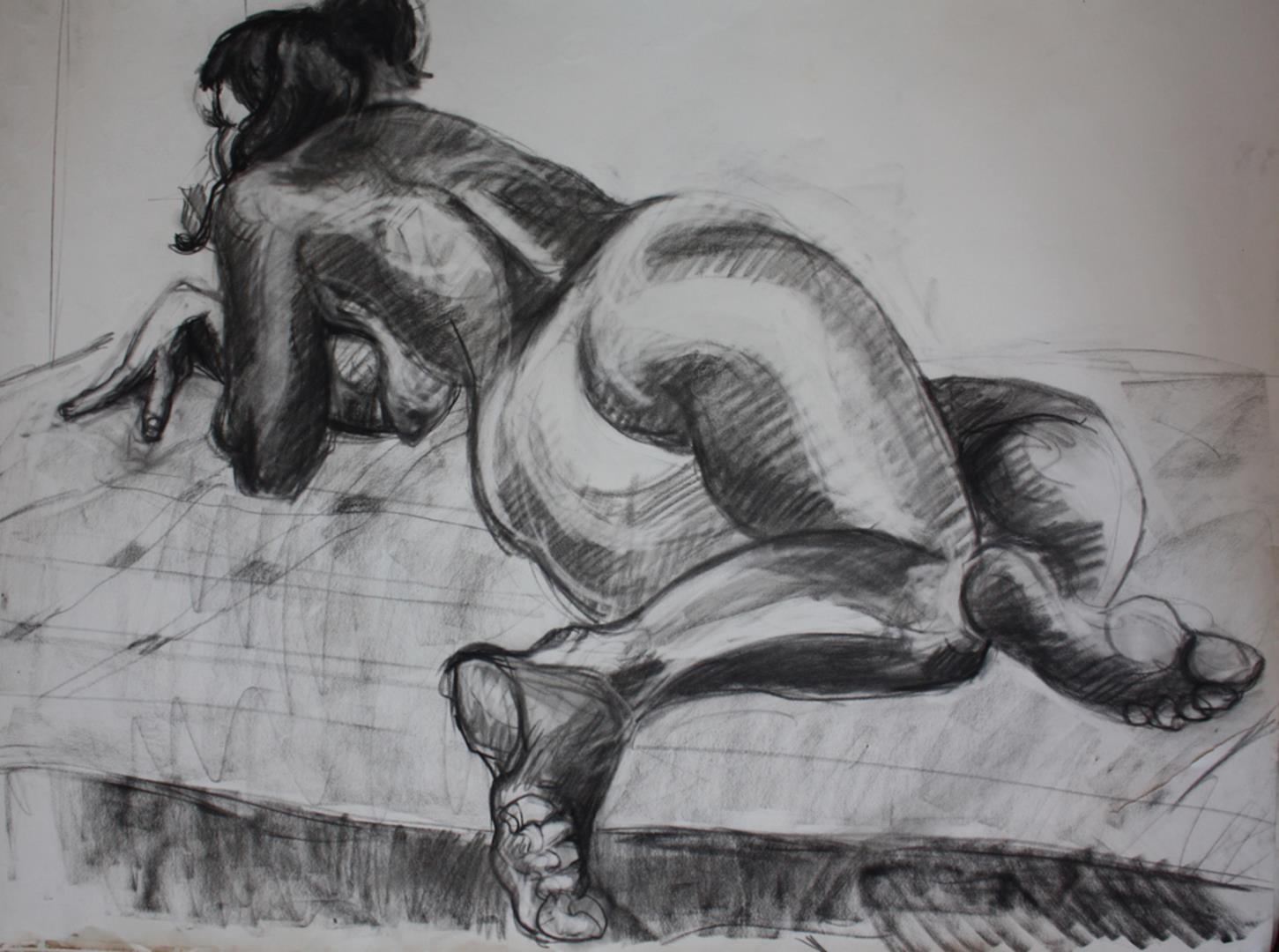 Stages de dessin – peinture d'après modèle vivant  - L' Atelier Saint Fargeau