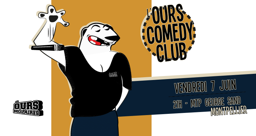 Ours Comedy Club - Les Ours Molaires