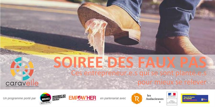 Soirée des Faux Pas - Édition Caravelle - Mouvement des Entrepreneurs Sociaux