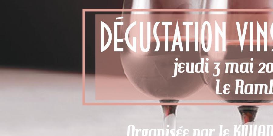 Soirée Oenologie - Accords Vins & Chocolat - KIWANIS LYON CONFLUENCE