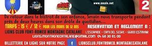 SOIRÉE SPECTACLE AVEC SMAÏN - Soirée caritative - Lions Club Font-Romeu Montagne Catalane