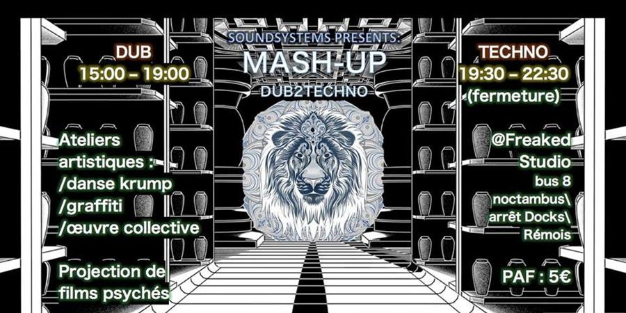 MASHUP : DUB 2 TECHNO - Soundsystems Sciences Po