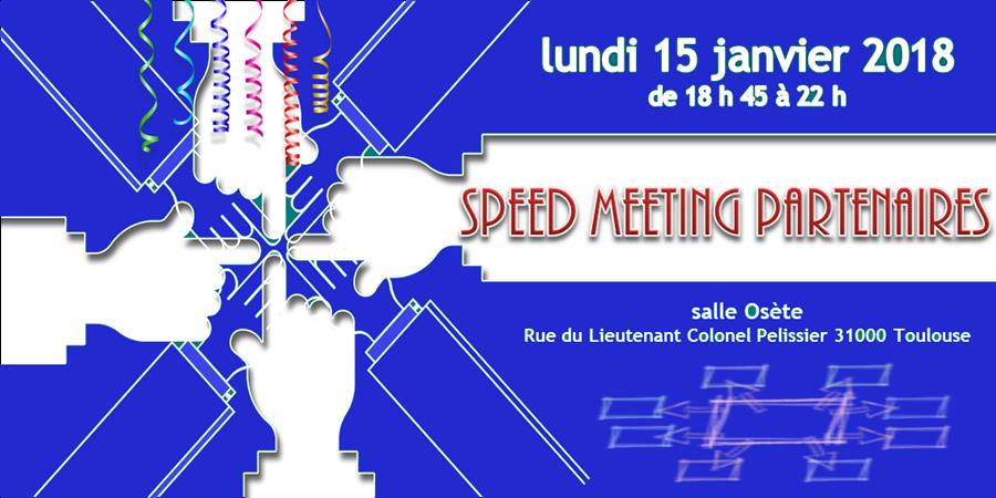 Speed Meeting Partenaires FFMAS 31 - FFMAS Haute-Garonne