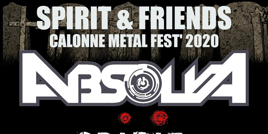 SPIRIT & FRIENDS CALONNE METAL FEST 2020 - ROCKCITY PRODUCTION