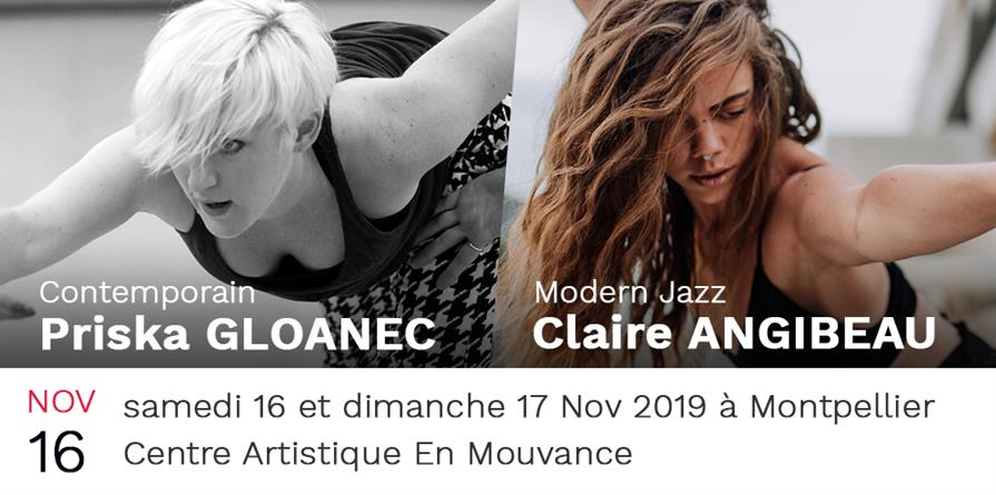 Stage de danse - En Mouvance - Novembre 2019 - En Mouvance