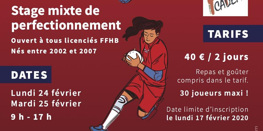 B33 Handball Académy. Février 2020 - Bruges 33 HB