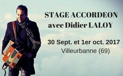 Stage Accordéon avec Didier Laloy - Bretelles du Monde