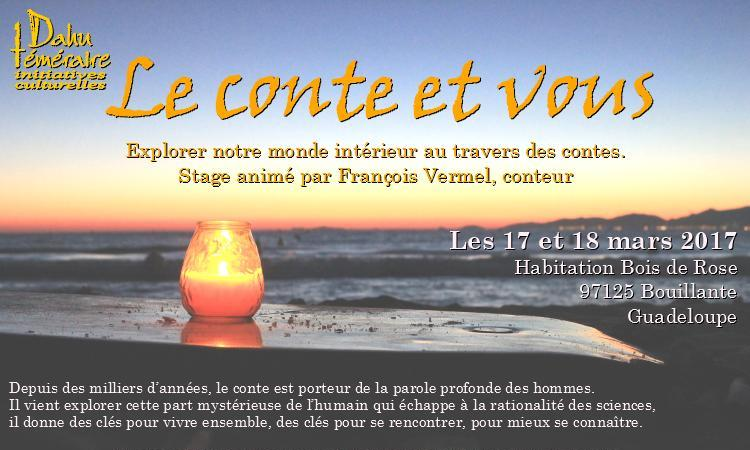 """Stage """" Le conte et vous """" - Dahu téméraire"""