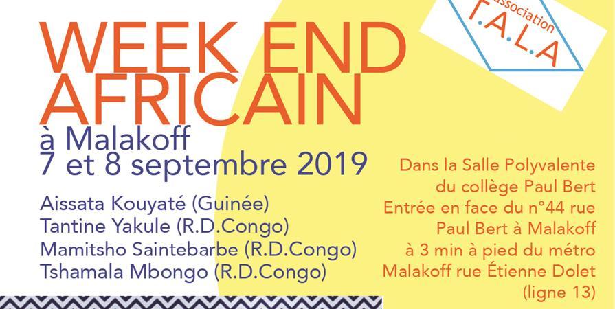 Week end Africain - ASSO TALA
