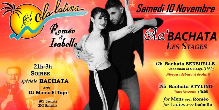 Stages Ola'Bachata 10 Nov 2018 - Ola Latina