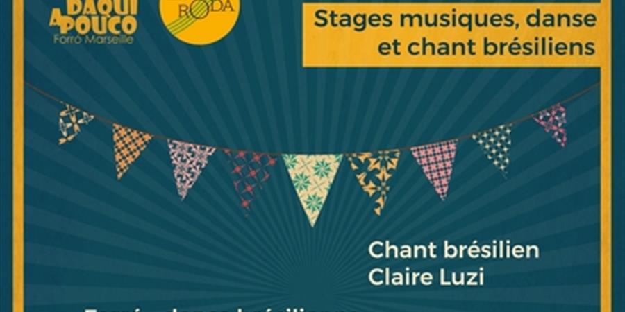 Stage Guitare brésilienne - La Roda