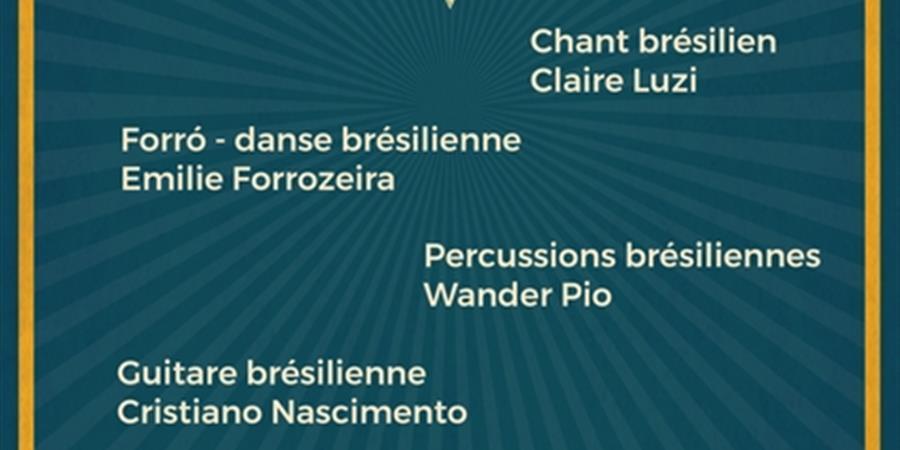 Stage forró, danse brésilienne avec Emilie Forrozeira - La Roda