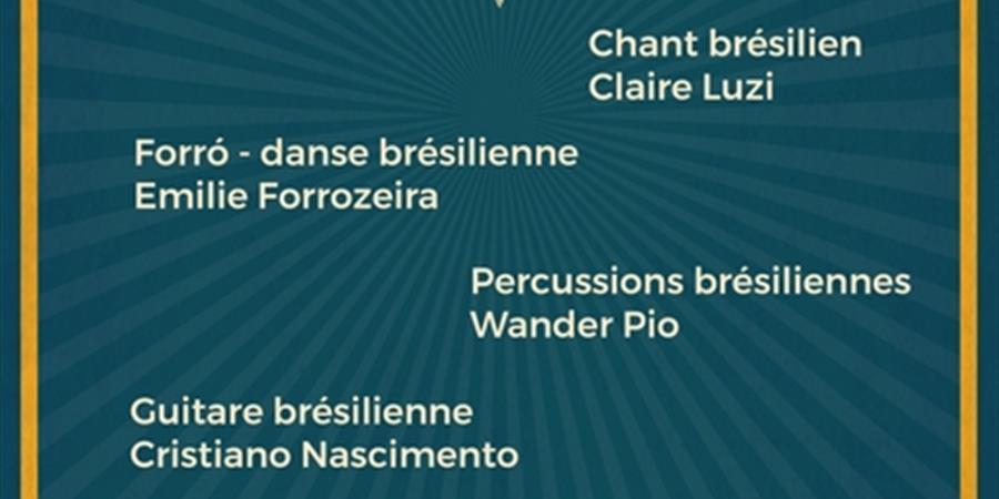 Stage percussions brésiliennes - Wander Pio - La Roda