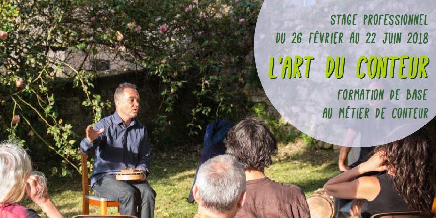 """""""L'art du conteur"""" - stage de conte - Dahu téméraire"""