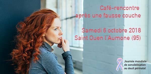St-Ouen l'Aumône - samedi 6 octobre 2018  Café-rencontre après une fausse-couche - Agapa