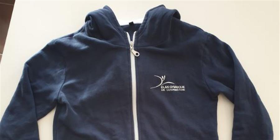 Sweat-shirt du club - Elan Gymnique de Courbevoie