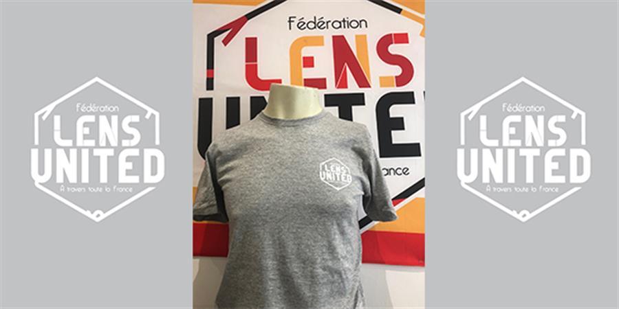 """T-shirt """"Lens United""""  - Fédération Lens United"""